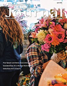 Community Associations Journal Cover - April 2018
